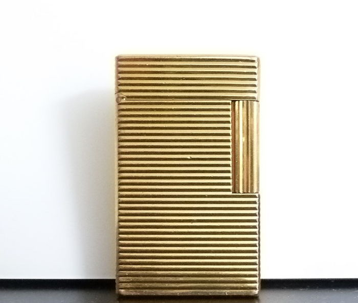S.T. Dupont gold-plated lighter - NO RESERVE PRICE