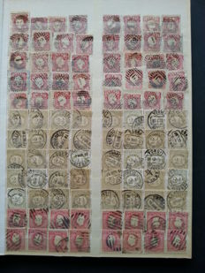 Portugal 1856/1923 – Selection of 1440 Stamps. Monarchy and Ceres.