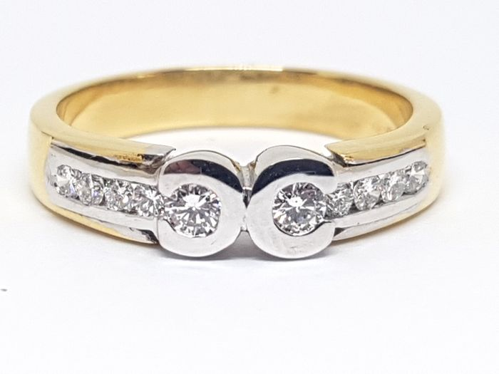 Diamond Alliance Ring 0,52ct.