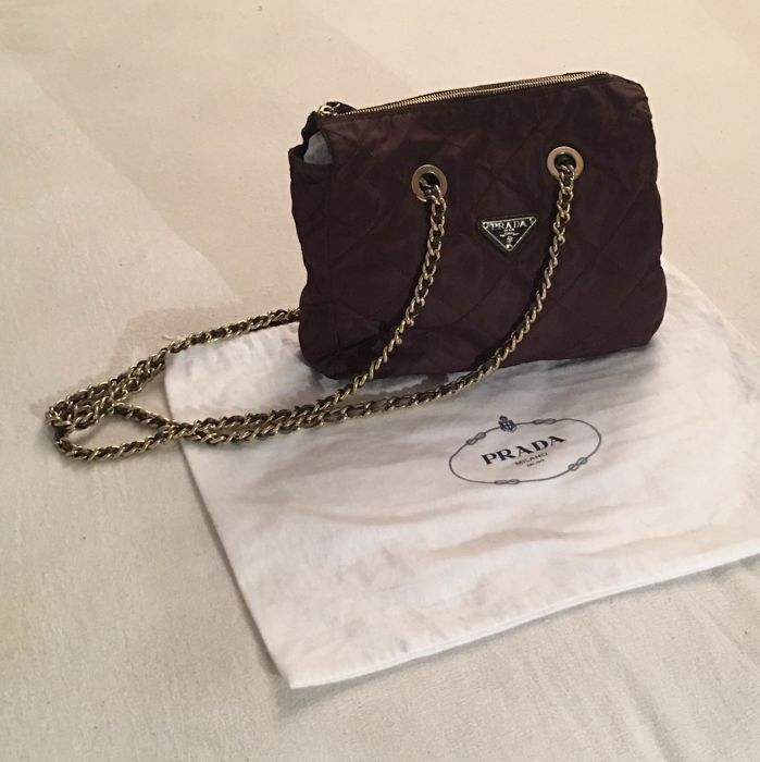 174e9b5a13 Prada - Double chain shoulder bag - *No Minimum Price* - Catawiki