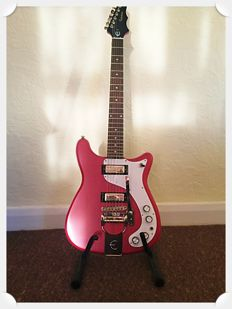 2011 Epiphone New Worn Wilshire 1966 Reissue with Tremotone Electric Guitar