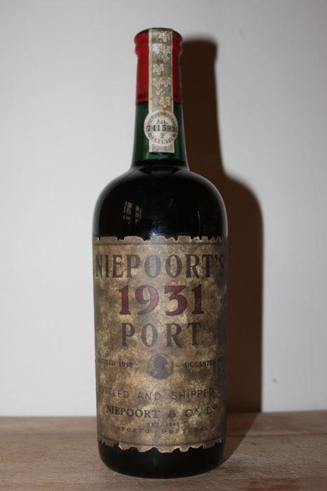 1931 Niepoort Garrafeira Port - bottled in 1938 and decanted in 1979