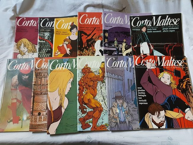 Corto Maltese - complete year - 12 issues with inserts (1990)