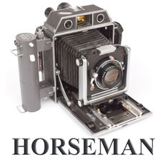 Horseman Topcon 980 rangefinder camera 6 x 9 with roll film back and professional TOPCOR 105 mm f 3.5 lens