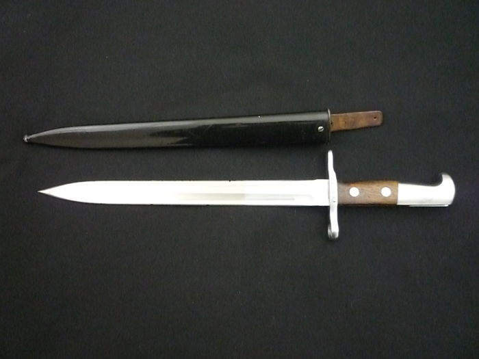 Swiss bayonet M1918 for Schmidt Rubin K11 and K31