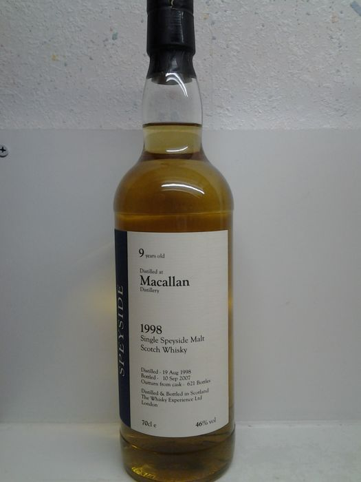 Macallan 1998 9 years old - The Whisky Experience Ltd.