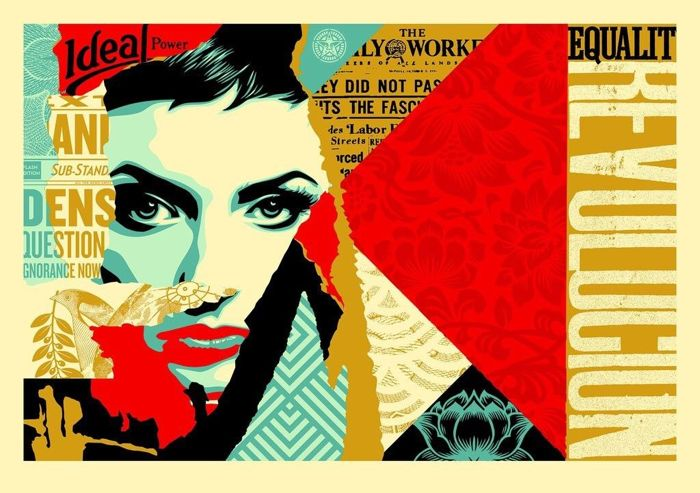 Shepard Fairey (OBEY) - Ideal Power - XL Format