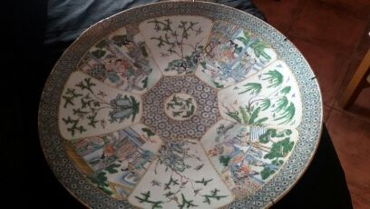 Vintage platter - China - Second half of the 19th century