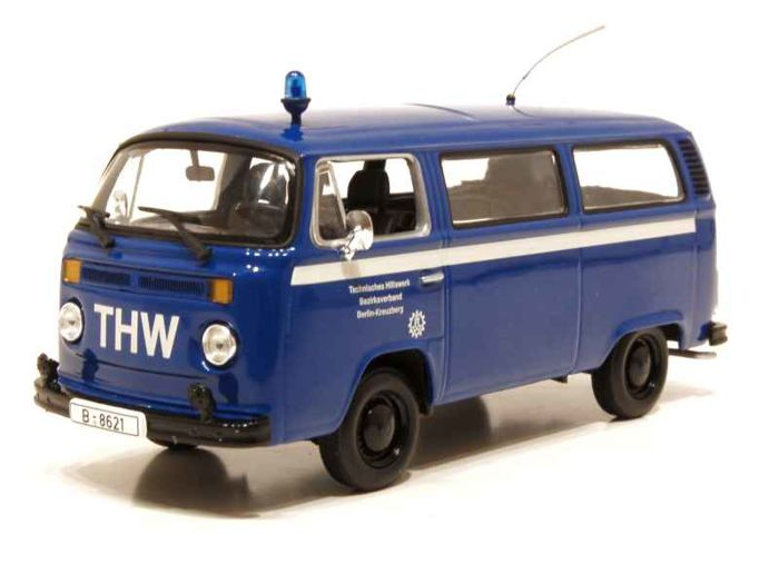 MiniChamps - 1:43 - Volkswagen T2 Bus 'THW Berlin-Kreuzberg' - Limited Edition of 1.008 pcs.