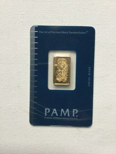 5g Pamp Suisse Minted Gold Bar