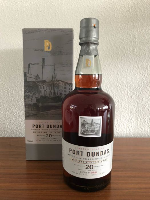 Port Dundas 20 years old - limited edition single grain whisky
