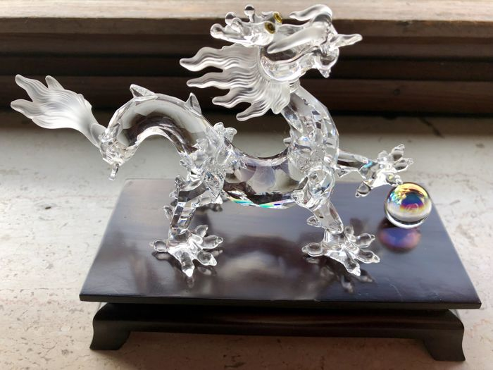 Swarovski crystal Chinese Dragon