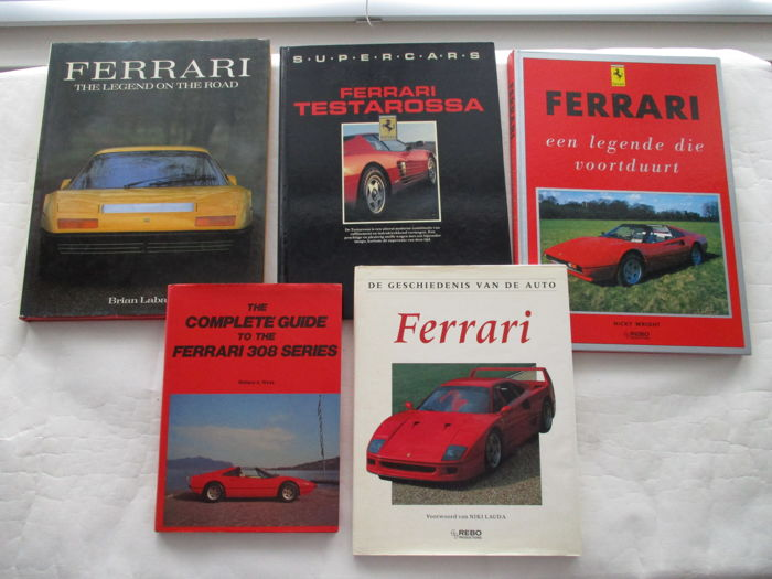 Ferrari - 5 books - various languages