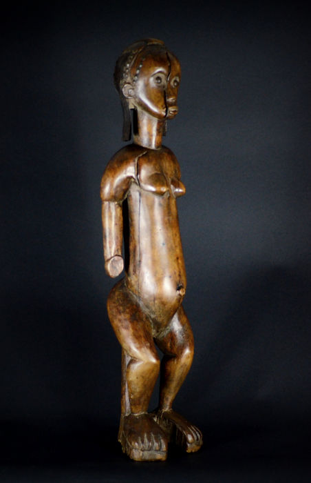 Top Quality African Tribal Byeri Ancestral Guardian figure -  FANG - Gabon.