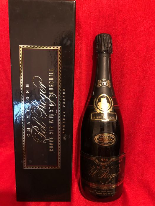 1988 Pol Roger Cuvee Sir Winston Churchill Epernay France - 1 bottle