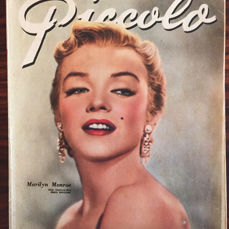 Marilyn Monroe; Lot with 11 issues of Piccolo - 1950/1963