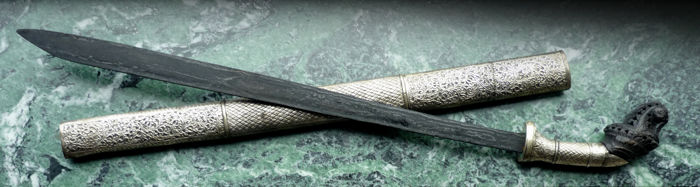 Antique keris sword Pedang - Indonesia - early 19th century
