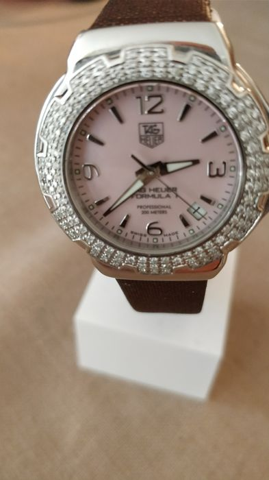 TAG Heuer - Professional- Factory Diamonds  - WAC1216 - Dames - 2011-heden