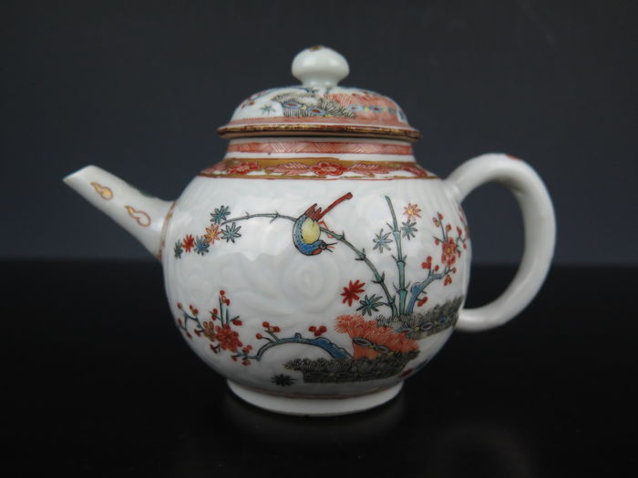 Tetera - Porcelana - China - siglo XVIII