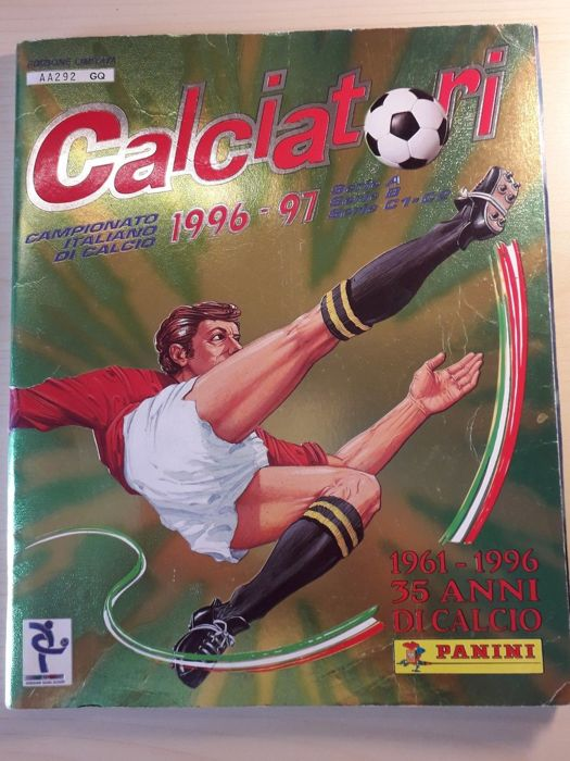 Panini - Calciatori 1996/97 - Complete album, numbered limited edition