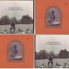 George Harrison: Concert For Bangla Desh (1971) / All Things Must Pass (1970) - lot of 2 LP Box-sets with 3LP's each.