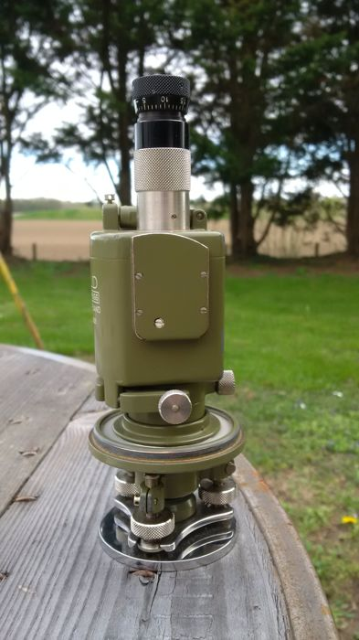 Rare Wild Heerbrugg T12 theodolite with T12 tripod - Catawiki 1124a97e891a
