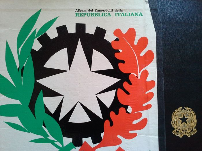 Italian Republic 1945/1964 - collection on Album and GBE sheets - 500 stamps