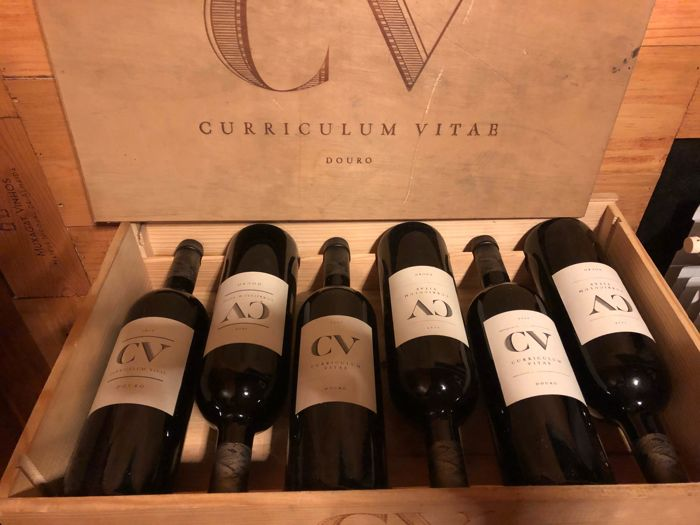 2006 CV Curriculum Vitae Douro - Red x 2 bottles - 2007 CV Curriculum Vitae Douro - Red x 2 bottles - 2010 CV Curriculum Vitae Douro - Red x 2 bottles - Portugal / 6 bottles in total