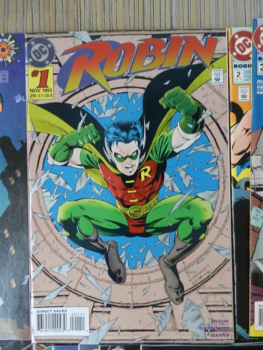 Robin Set 1 with Robin Vol. 2 #0-60 plus Robin III: Cry of the Huntress complete & Red Robin # 1 - 4 - 71x (1992-2009)