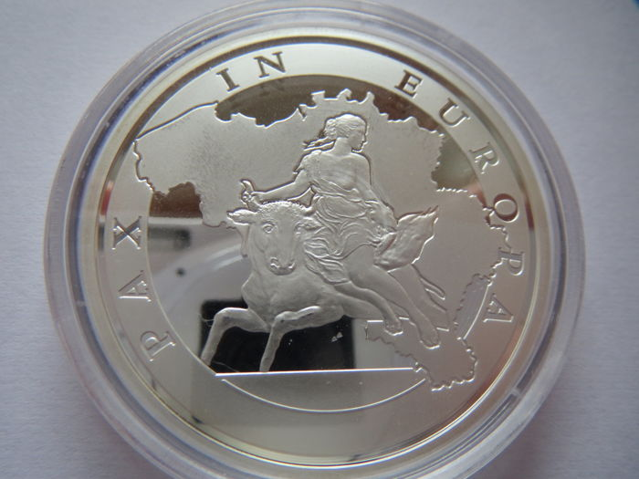 Belgium - 20 Euro 2015 'Peace in Europe' - Silver