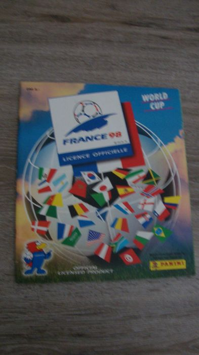 Panini - World Cup 1998 France - Empty album