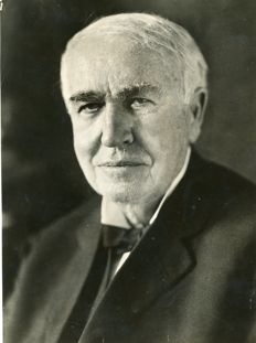 Unknown/Associated Press - Thomas Edison, c.1920's