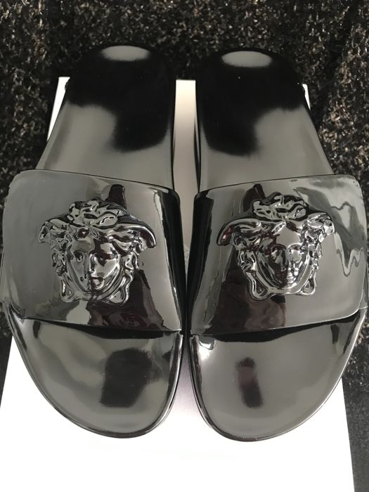 Versace - Plateauzool Slippers-Big Medusa