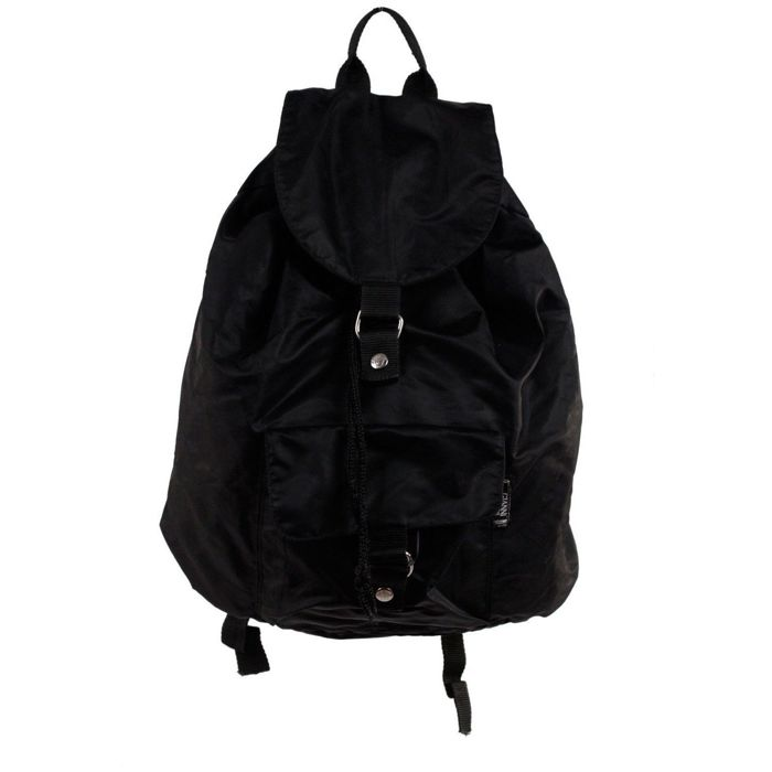 Gianni Versace - Black Nylon Backpack Shoulder Bag