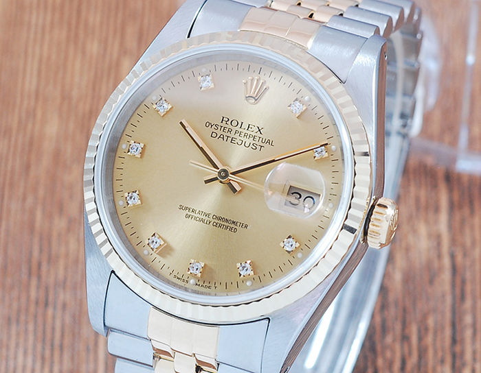 Rolex - Oyster Perpetual DateJust  - 16233 - Men - 1990-1999