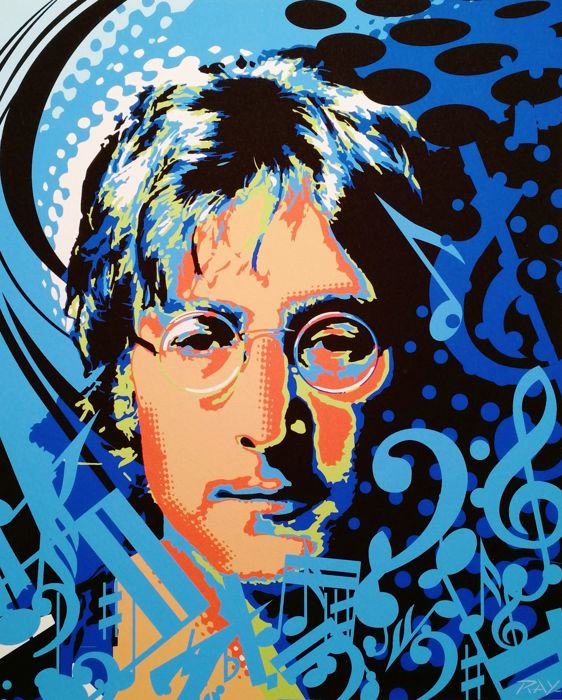 John Lennon by Ray Lengele - Limited edition - 54 / 300
