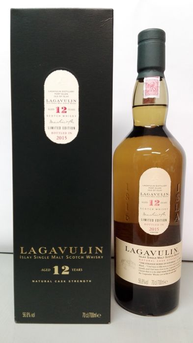 Lagavulin 12 years old - cask strength (bottled 2015)