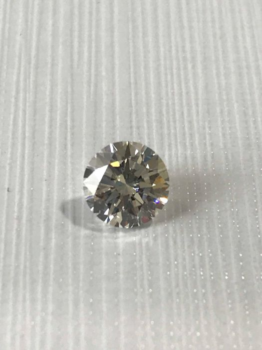 Round Brilliant 0.97 ct GSI1 GIA #2733 Low Reserve - Ideal cut