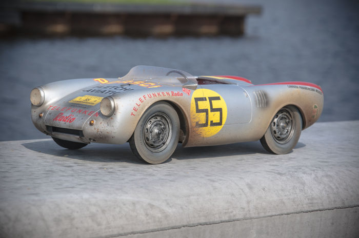 Handcrafted - Scale 1/8 - Porsche 550A Spyder Panamericana - Unique Model