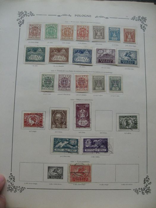 Poland 1918/1943 - Collection including duty stamps and service stamps