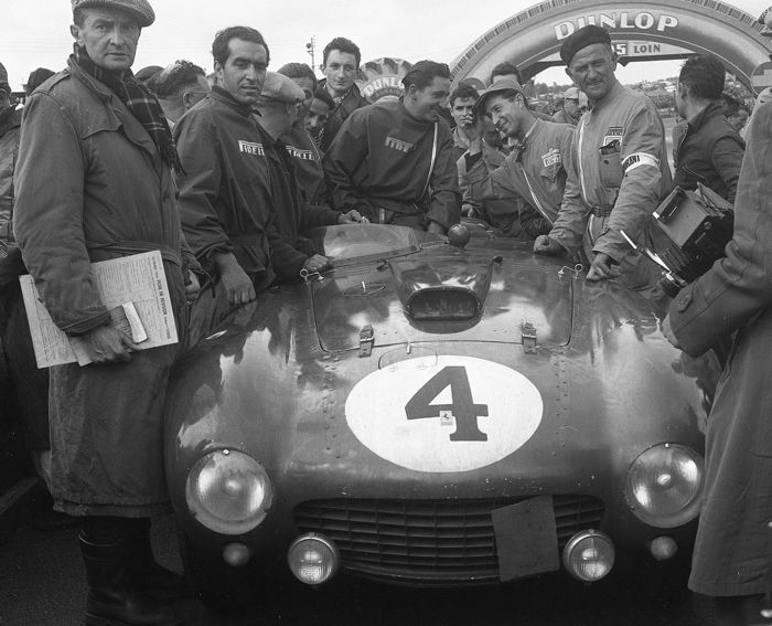 photograph -  1954 Le Mans 24 Hour Ferrari 375 winner Gonzalez  - 2016 (1 items)