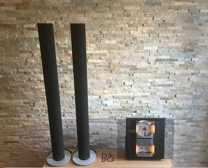 Bang and Olufsen - Beosound Ouverture with wallbracket + Beolab 6000 active speakers