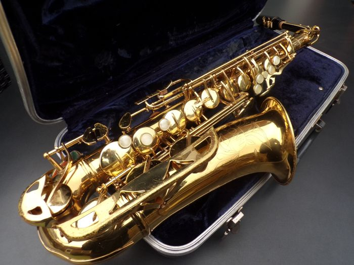 CONN USA altsaxofoon, fine player