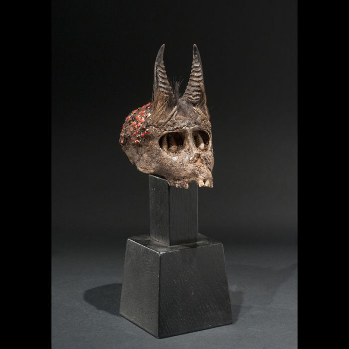 Fetish monkey skull - FON - Benin