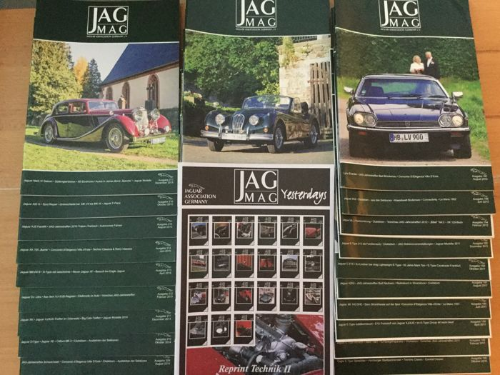 29 JAG MAG magazines - Rarities & 1 special edition