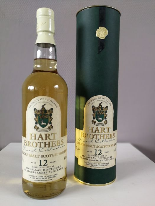 Macallan 1990 12 years old - Hart Brothers