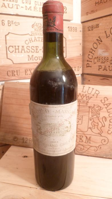 1963 Chateau Margaux, Margaux Premier Grand Cru Classé - 1 bottle