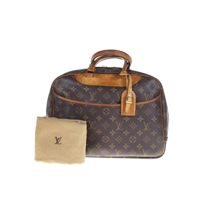 2a0490b43b5f Louis Vuitton - Deauville Monogram Handbag -  No Minimum Price  - Vintage
