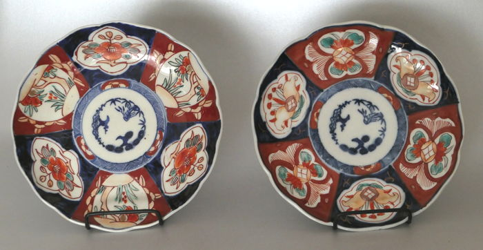 Two Imari plates - Japan - Meiji era (1868-1912)