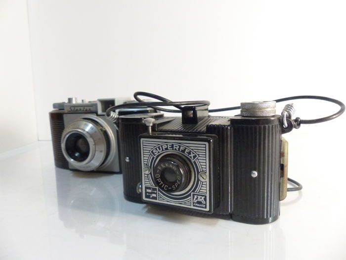 camera lumiere starter 1955 and fex indo superflex 1953